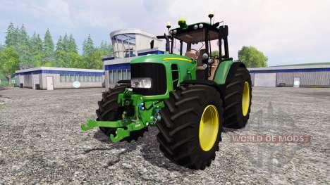 John Deere 7530 Premium v2.2 para Farming Simulator 2015