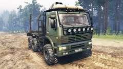 KamAZ-6522 para Spin Tires