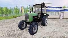 MTZ-82.1 Bielorrússia [verde] para Farming Simulator 2015