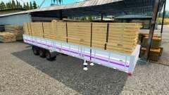 Mesa semi-reboque para Euro Truck Simulator 2