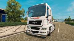 Pele Intermarket no trator HOMEM para Euro Truck Simulator 2