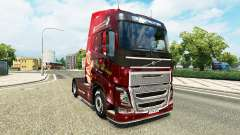 Natal pele para a Volvo caminhões para Euro Truck Simulator 2