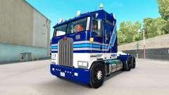 Vinho da califórnia pele para Kenworth K100 caminhão para American Truck Simulator
