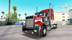 A pele do Exército no caminhão Kenworth W900 para American Truck Simulator