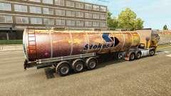 Rusty skins para reboques para Euro Truck Simulator 2