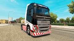 Transporte pesado de pele para a Volvo caminhões para Euro Truck Simulator 2