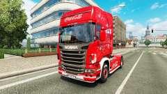 Pele Coca-Cola no tractor Scania para Euro Truck Simulator 2