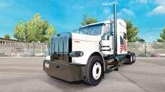 Potência de Transporte de pele para o caminhão Peterbilt 389 para American Truck Simulator