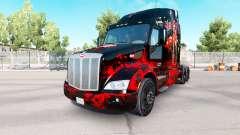 Deadpool pele para o caminhão Peterbilt para American Truck Simulator
