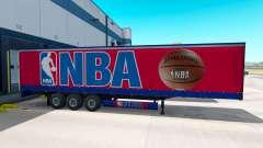 A pele da NBA no trailer para American Truck Simulator