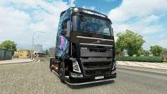 Maus Olhos a pele para a Volvo caminhões para Euro Truck Simulator 2