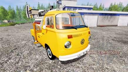 Volkswagen Transporter T2B 1972 [lighting mast] para Farming Simulator 2015