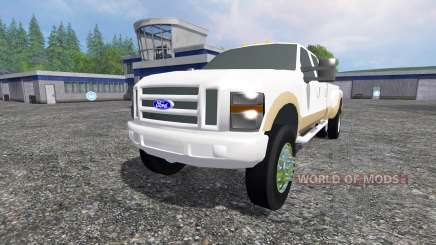 Ford F-350 2009 King Ranch para Farming Simulator 2015