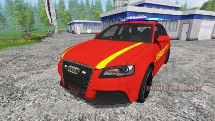 Audi RS3 8PA [feuerwehr] v0.9 para Farming Simulator 2015