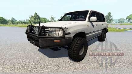 Toyota Land Cruiser 100 [renewed] para BeamNG Drive