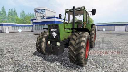 Fendt 611 LSA Turbomatic [forestry edition] para Farming Simulator 2015