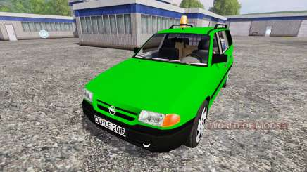 Opel Astra F Caravan [Deutz-Fahr service] para Farming Simulator 2015