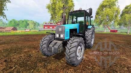 MTZ-1221 Bielorrússia v1.0 para Farming Simulator 2015