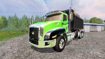 Caterpillar CT660 [dump] para Farming Simulator 2015