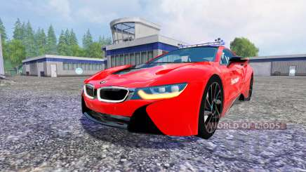 BMW i8 eDrive Feuerwehr para Farming Simulator 2015