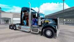 Pele de World of Warcraft no caminhão Kenworth W900 para American Truck Simulator