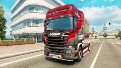 Pele o Rei da Estrada no tractor Scania para Euro Truck Simulator 2