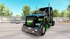 Monster Energy pele para o caminhão Peterbilt 389 para American Truck Simulator