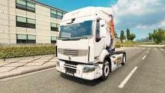 Pele Koi para trator Renault para Euro Truck Simulator 2