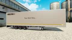 Cortina semi-reboque Wielton para Euro Truck Simulator 2