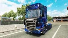 Espaço legal para a pele do caminhão Scania para Euro Truck Simulator 2