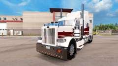 Costa oeste da pele para o caminhão Peterbilt 389 para American Truck Simulator