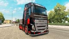 DeadPool pele para a Volvo caminhões para Euro Truck Simulator 2