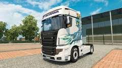 Uma coleção de skins para Scania caminhão R700 para Euro Truck Simulator 2