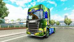 Brasil para a pele do Scania truck para Euro Truck Simulator 2