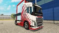 A pele de Leão para a Volvo caminhões para Euro Truck Simulator 2