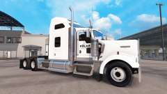 A pele em um Polar Indústrias caminhão Kenworth W900 para American Truck Simulator