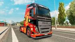 O Manchester United pele para a Volvo caminhões para Euro Truck Simulator 2