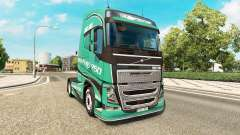 Estrada do Rei pele para a Volvo caminhões para Euro Truck Simulator 2