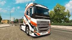 JST Serviços de pele para a Volvo caminhões para Euro Truck Simulator 2