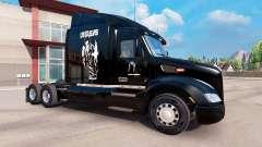 Pele de Elvis Presley no trator Peterbilt para American Truck Simulator