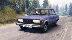 O VAZ-2105 para Spin Tires