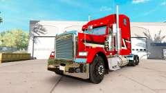 Pele Metalizado no caminhão Freightliner Clássico XL para American Truck Simulator