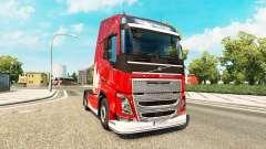 Feliz Natal a pele para a Volvo caminhões para Euro Truck Simulator 2