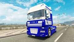 Dastagir TRANS pele para caminhões DAF para Euro Truck Simulator 2
