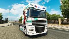 Collin IronMan pele para caminhões DAF para Euro Truck Simulator 2