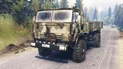 KamAZ-4326 para Spin Tires