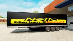 Pele Netto sobre o trailer para Euro Truck Simulator 2