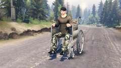 Acesso para cadeira de rodas para Spin Tires