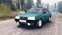 VAZ-21099 para Spin Tires