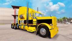 GATO de pele para o caminhão Peterbilt 389 para American Truck Simulator